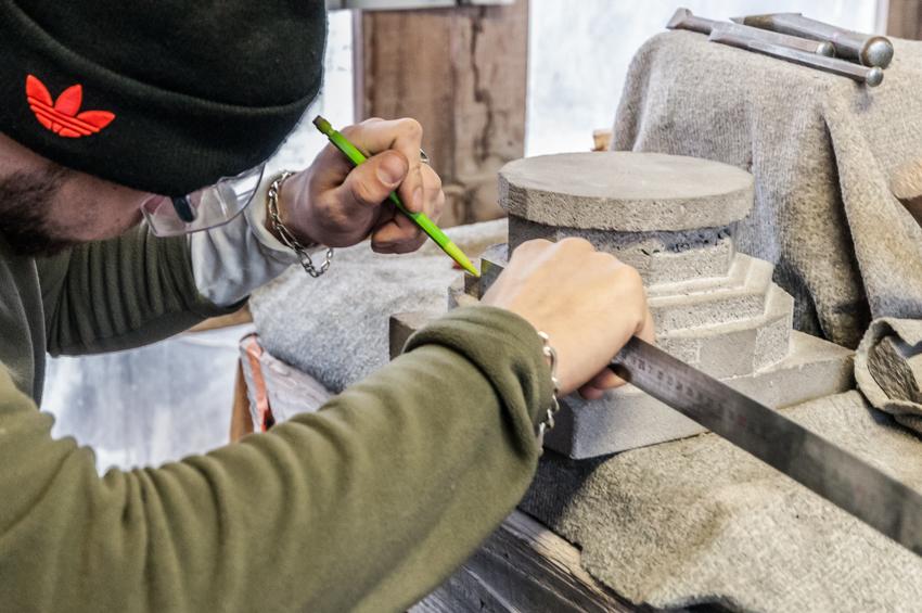 Exercice moulures taille de pierre