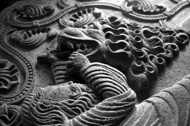 Détail d'une sculpture - Franck Sengel